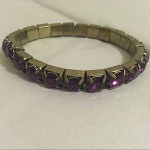 Purple Gem Bracelet 💎